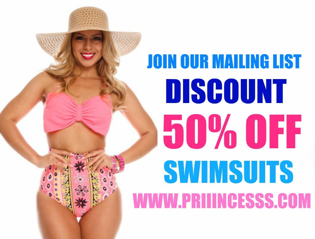 SWINSUIT SALE- GET 50% OFF SWIMSUITS