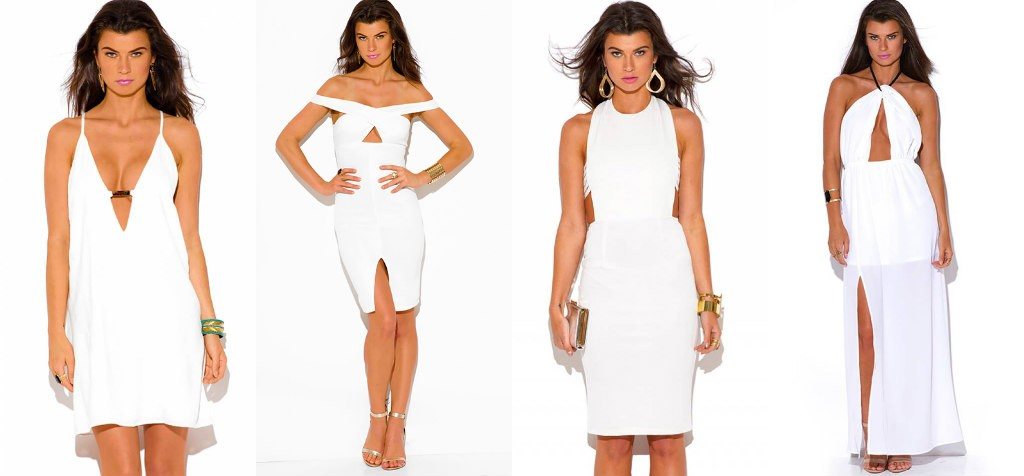 SMALL BUSINESS SATURDAY- WHITE DRESSES
