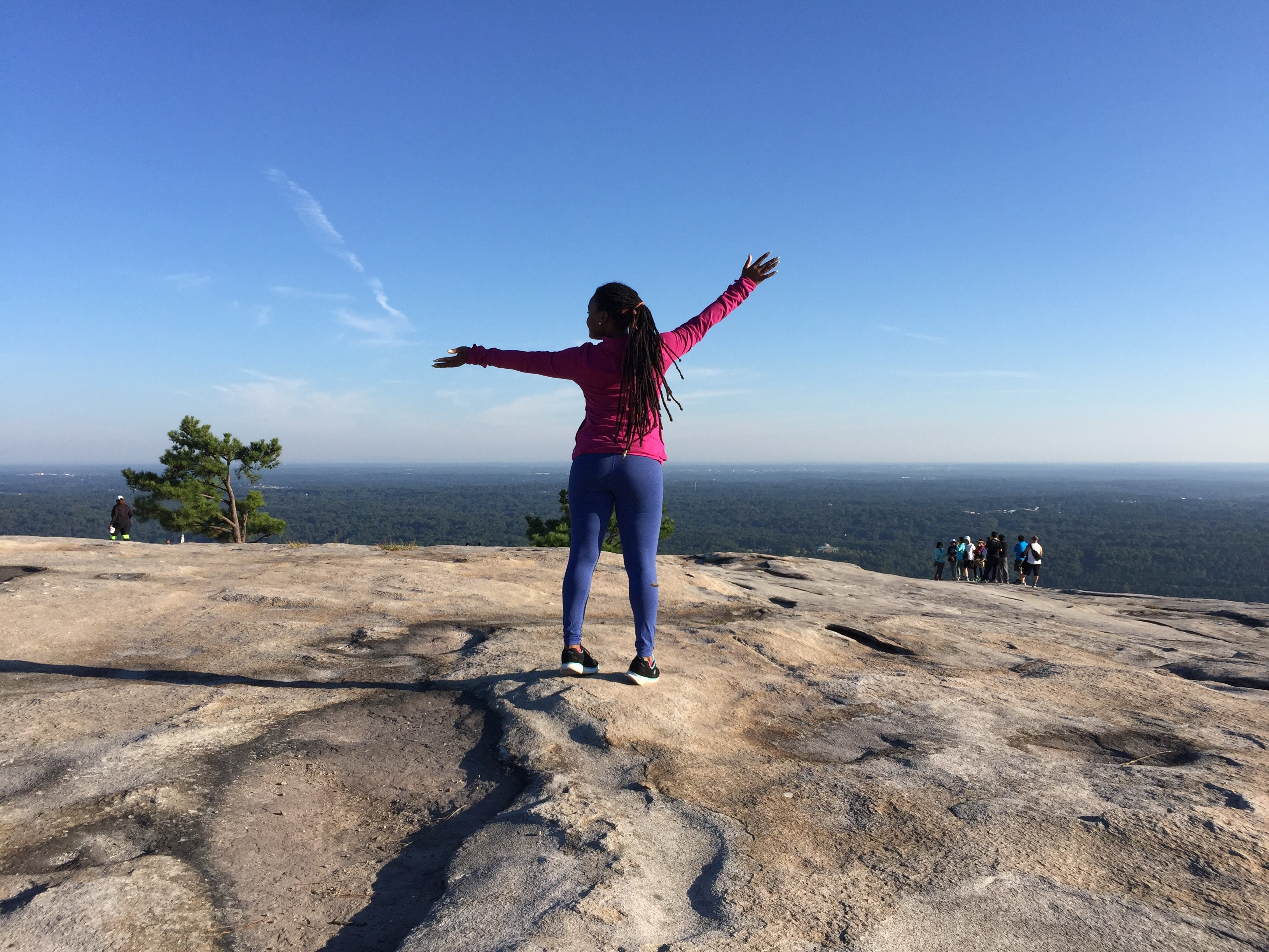 Get Fit: Stone Mountain Walk up Trail