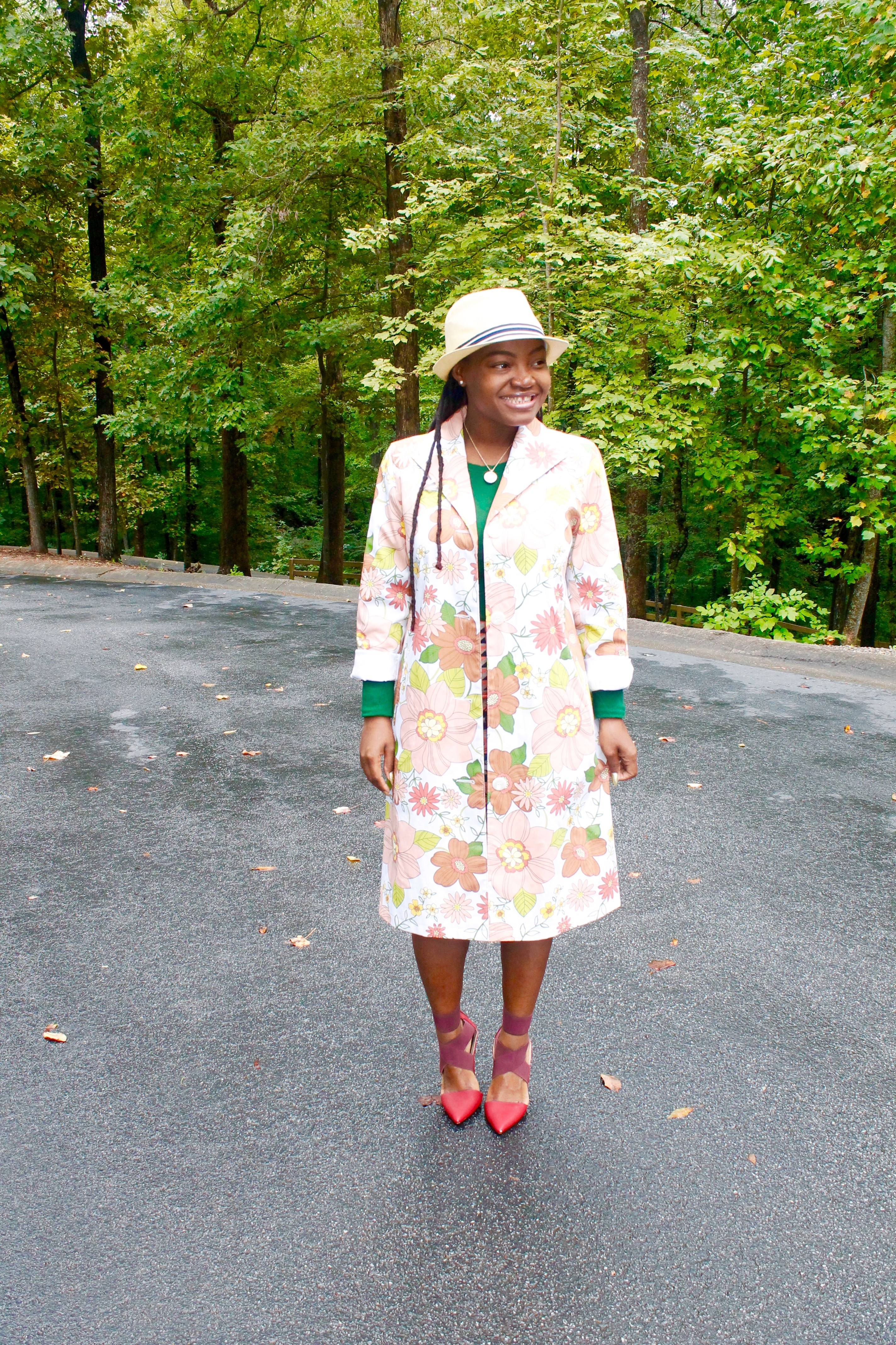 OOTD: CHURCH CHIC- FALL TRENCH COAT