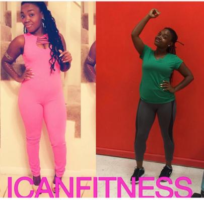 Flex Friday: Not Flexing-Pink Workout Clothes