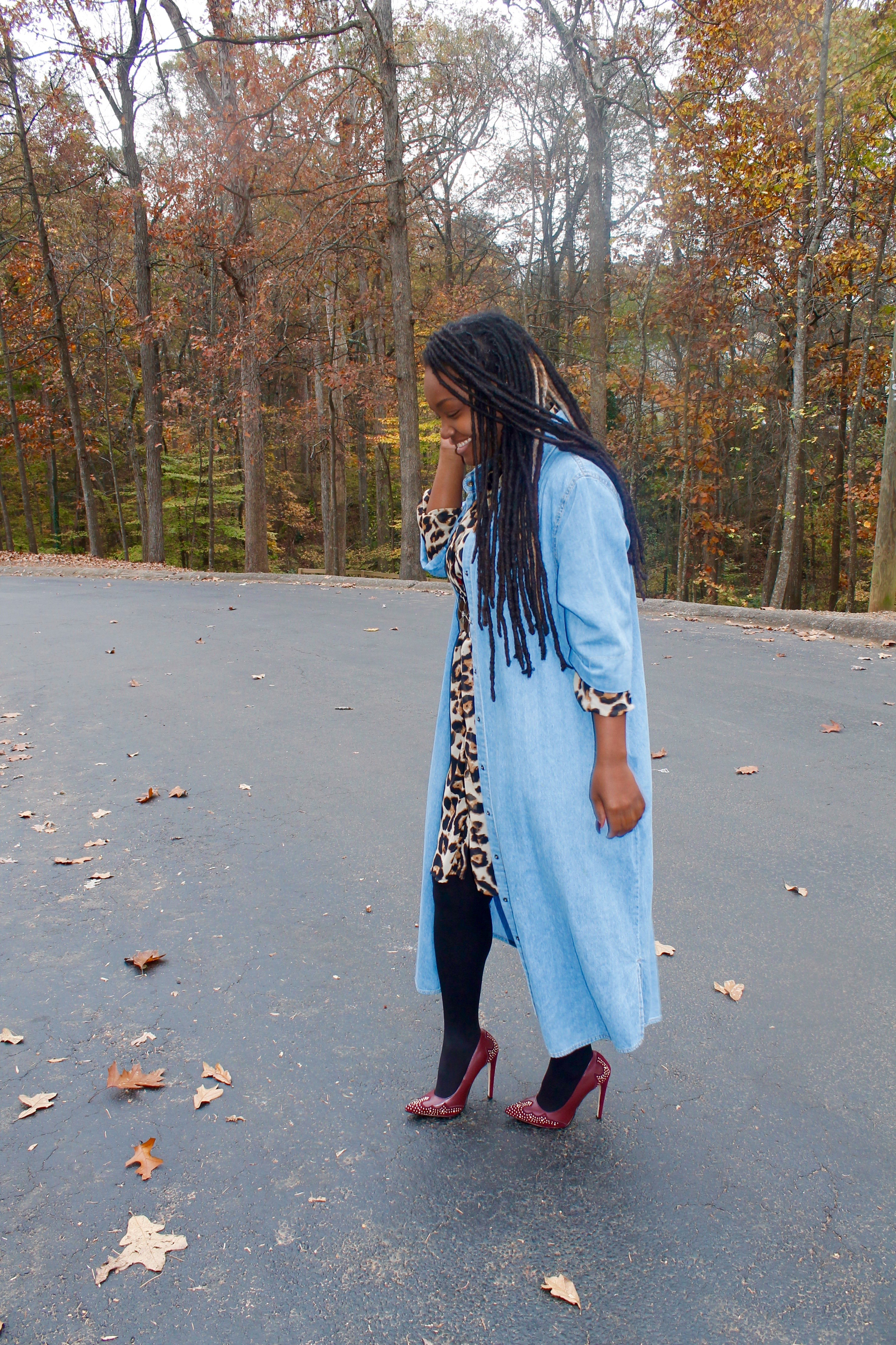 STYLE BOOK- FALL DENIM OVER LEOPARD