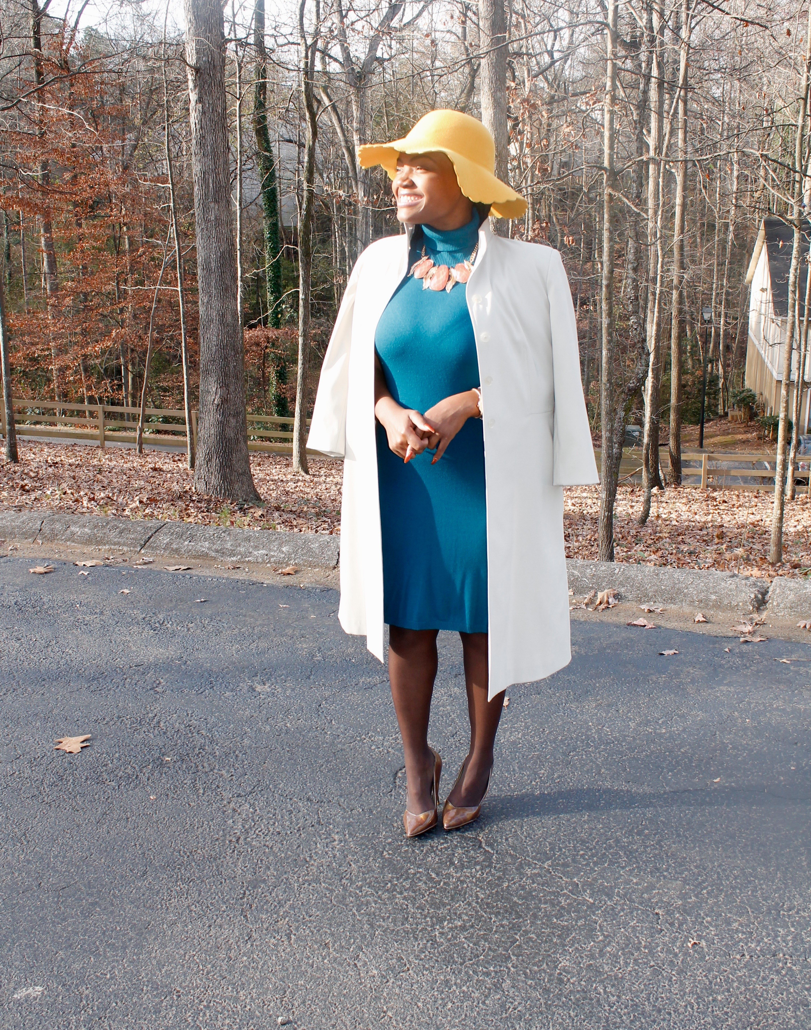 STYLE BOOK: CHURCH CHIC- OLIVIA POPE COAT