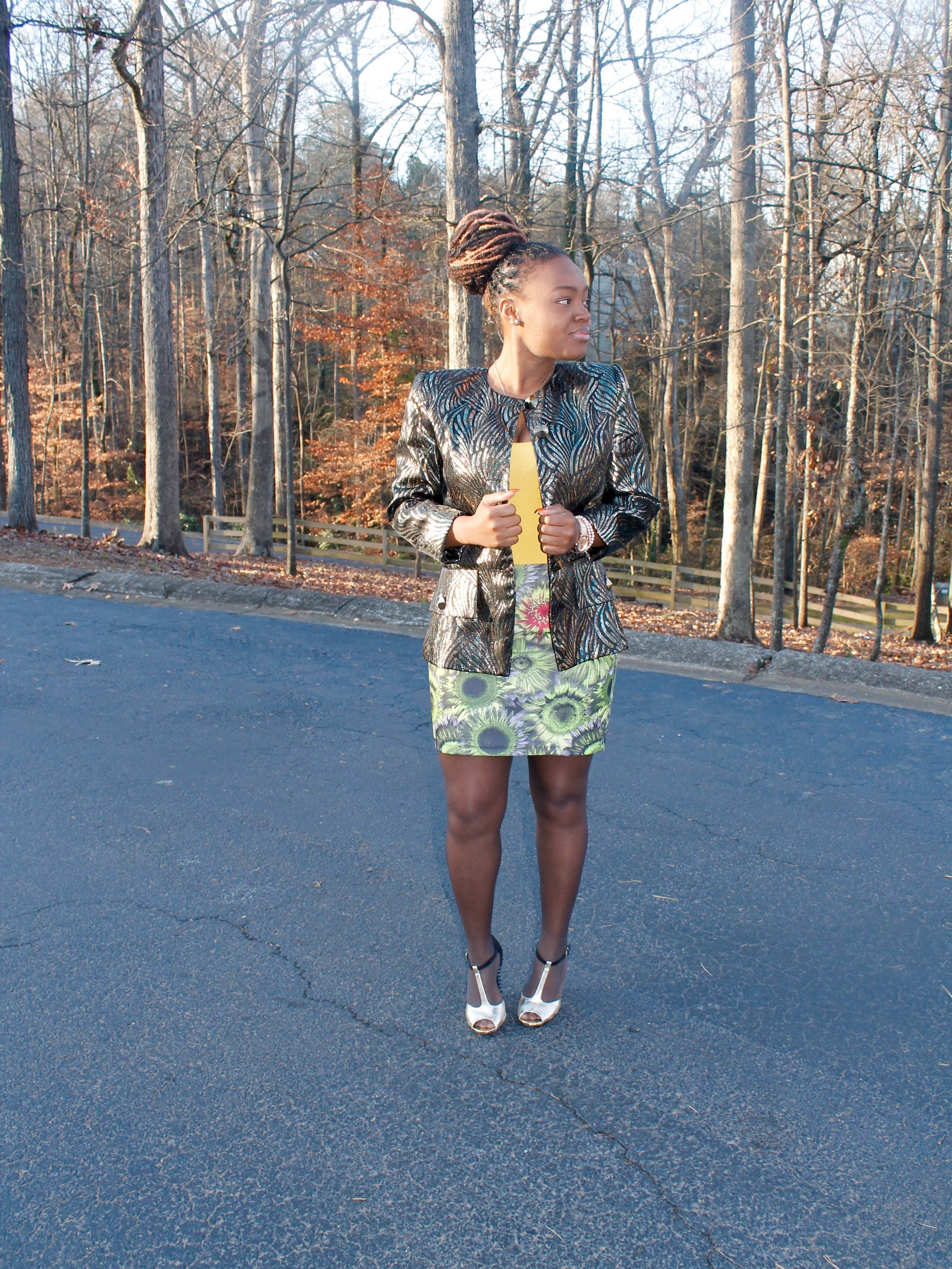 STYLE BOOK: VINTAGE SPARKLY JACKET