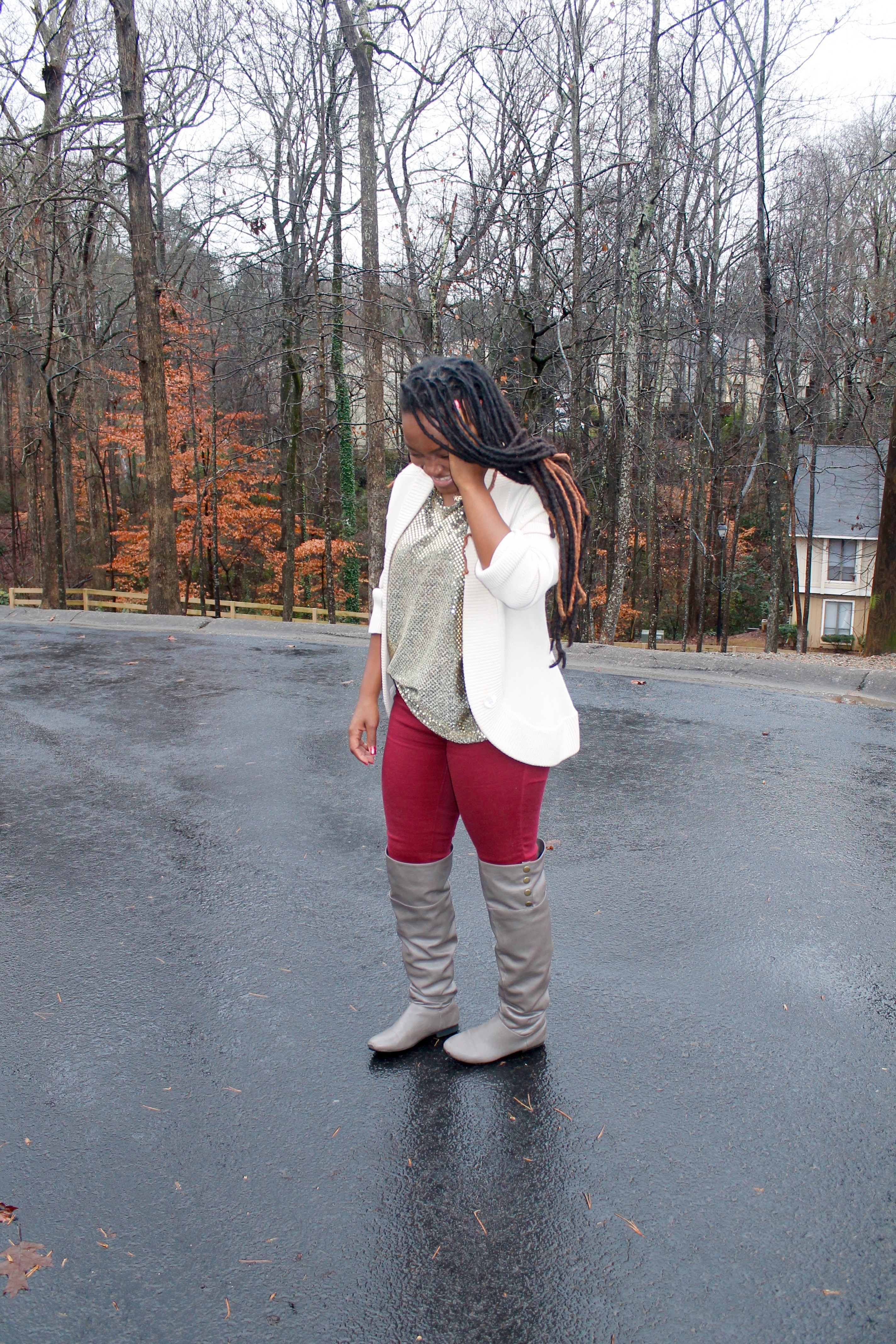 STYLE BOOK: SPARKLES AND FALL CASUALS
