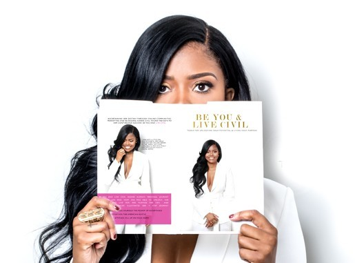12 BOOKS- BE YOU AND LIVE CIVIL BY KAREN CIVIL