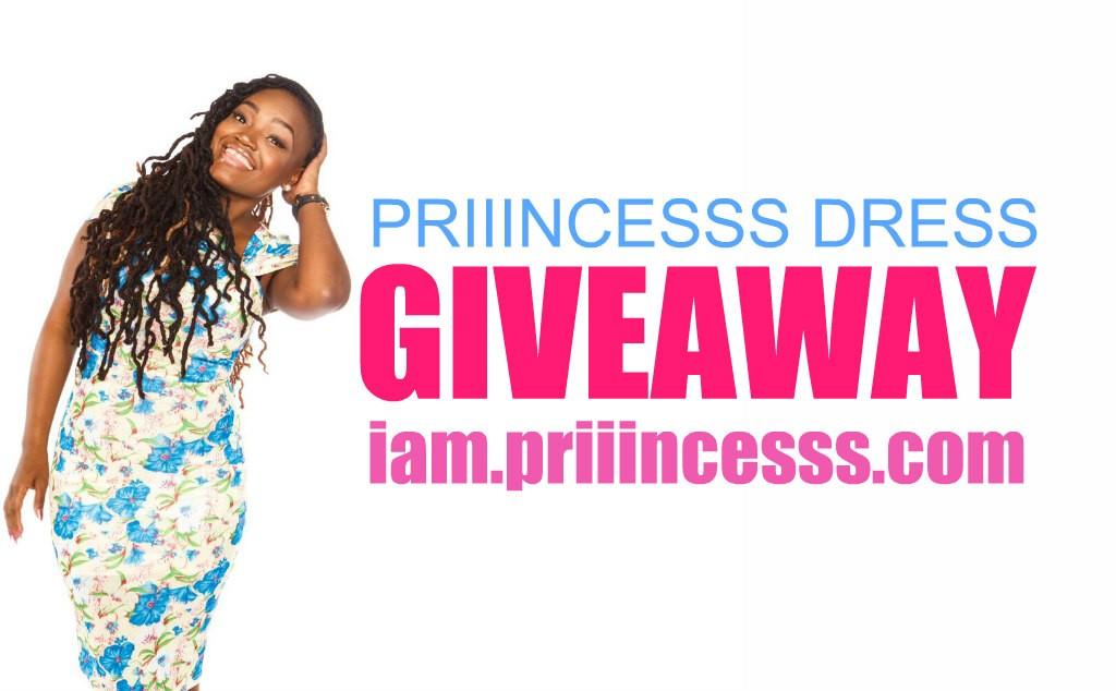 priiincesss dress giveaway