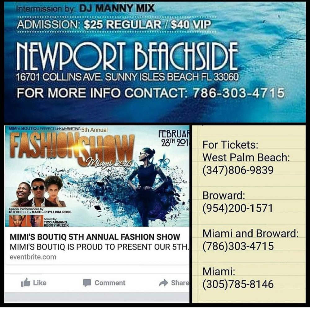 TRAVEL BABE: MIAMI FOR MIMIS BOUTIQ FASHION SHOW