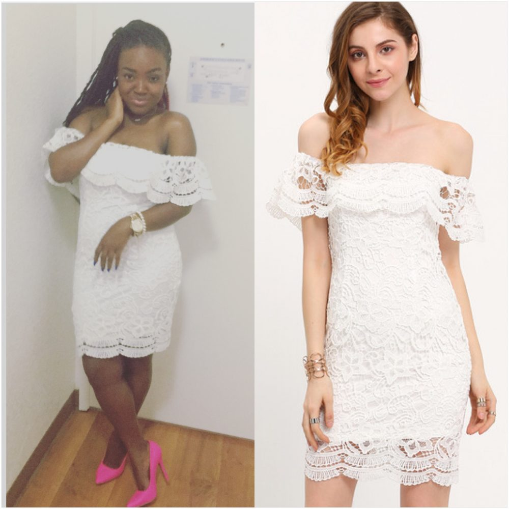 STYLE: PRIIINCESSS LITTLE WHITE DRESS
