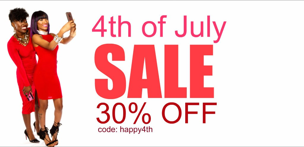 WORK: 4TH OF JULY SALE