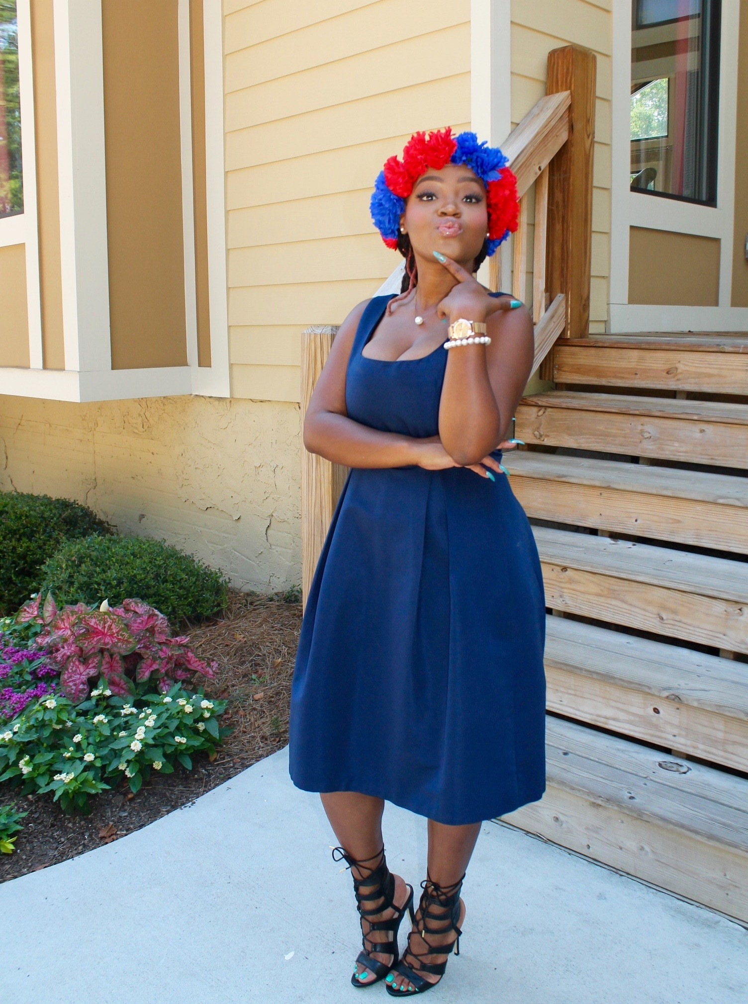 STYLE: 4TH OF JULY SUNDAY BEST FLORAL CROWN