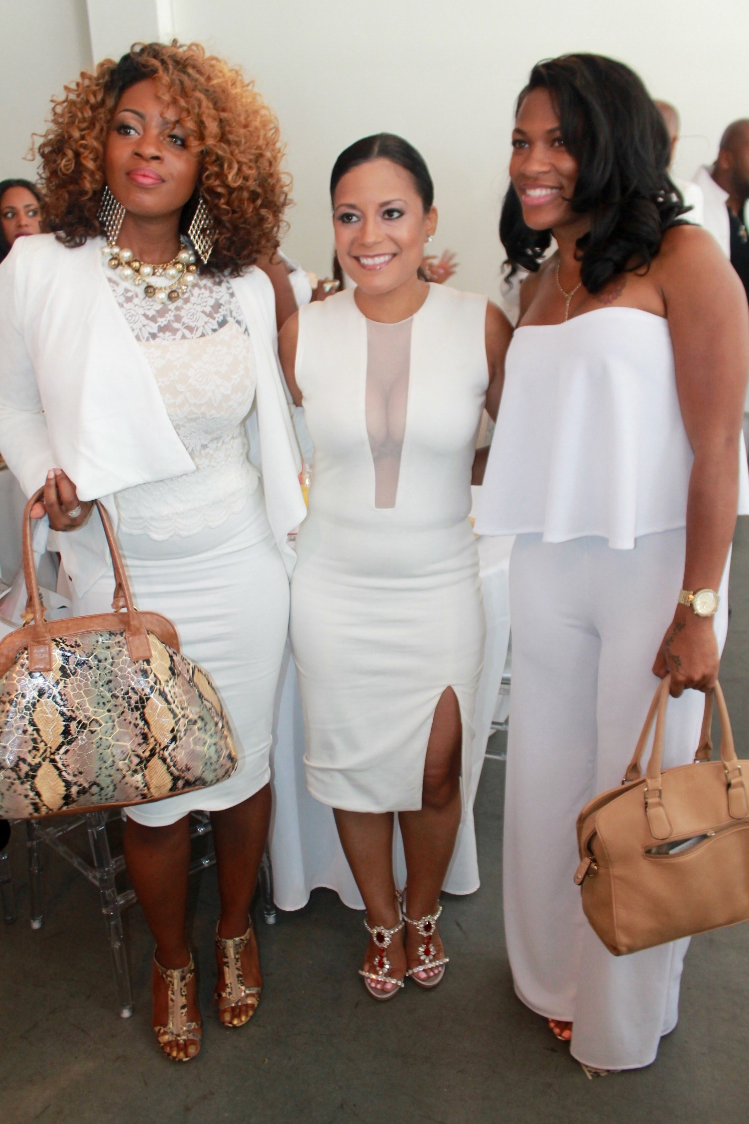 "SOCIAL: ""GLAMBITIOUS I AM"" ALL WHITE ELITE BRUNCH"