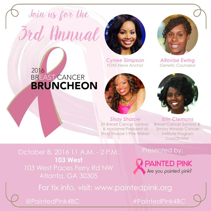 PAINTED PINK 2016 BREAST CANCER BRUNCHEON