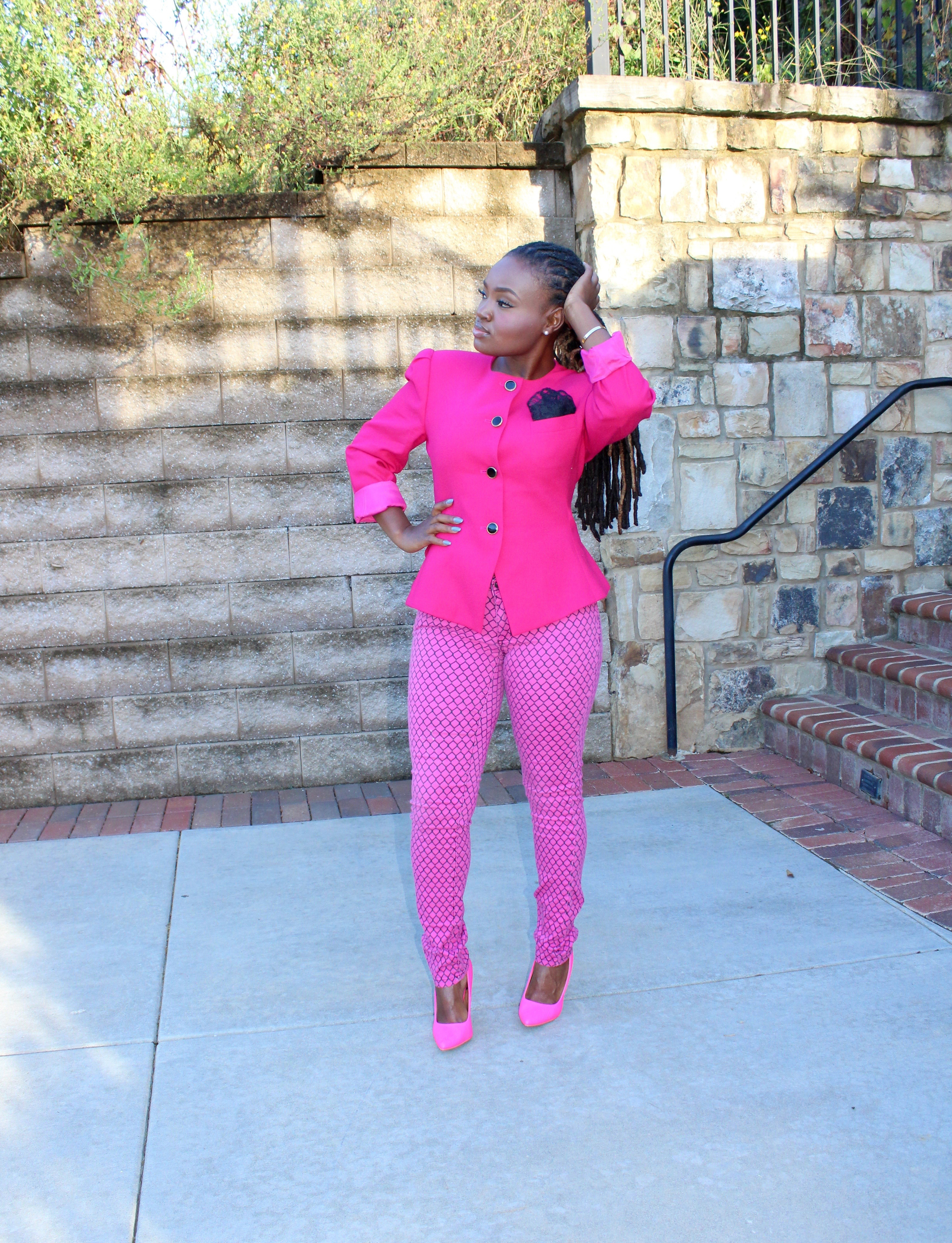 WIWW: PAINTED PINK BREAST CANCER ATTIRE +LINKUP