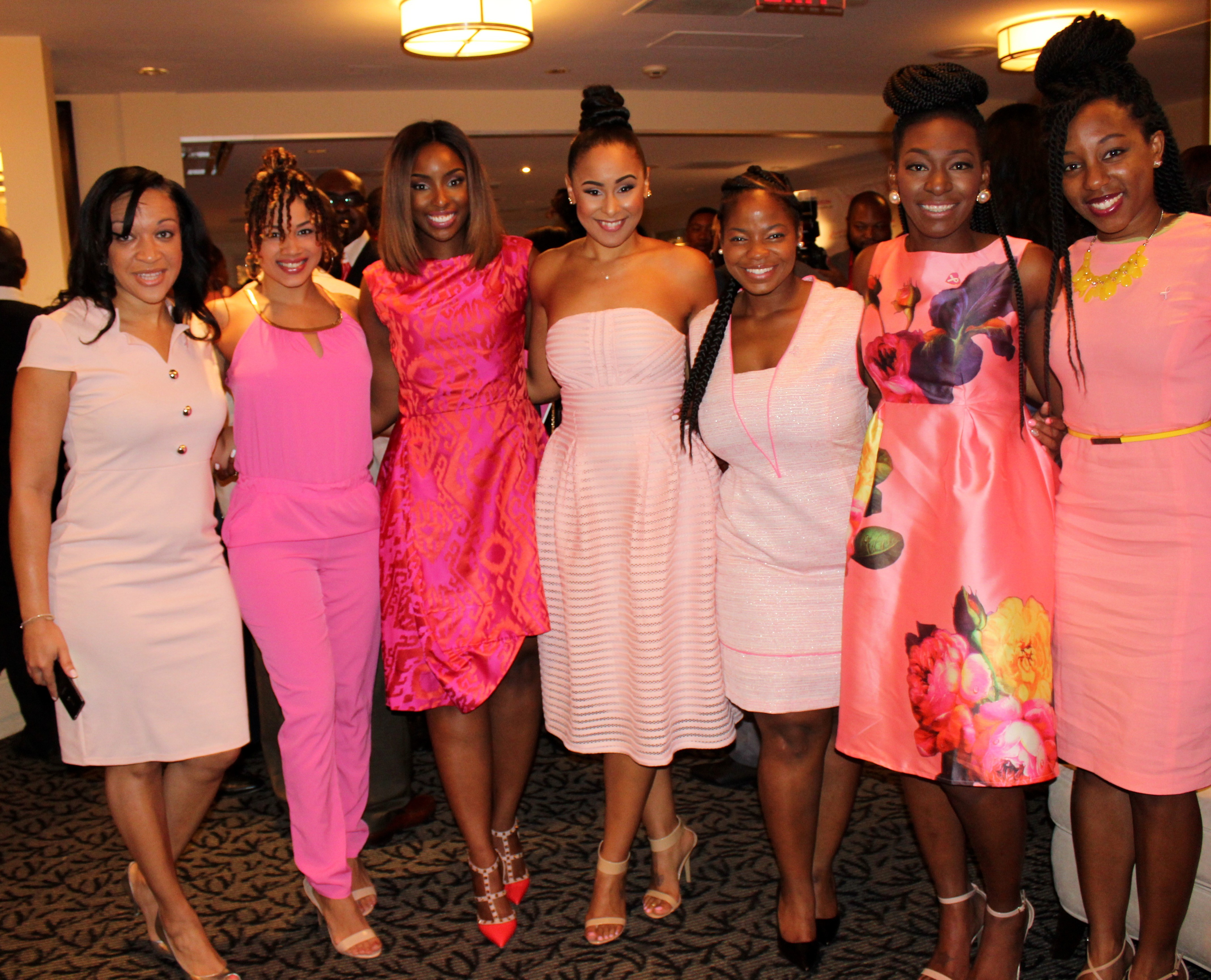 PINK PAINTED BREAST CANCER BRUNCH