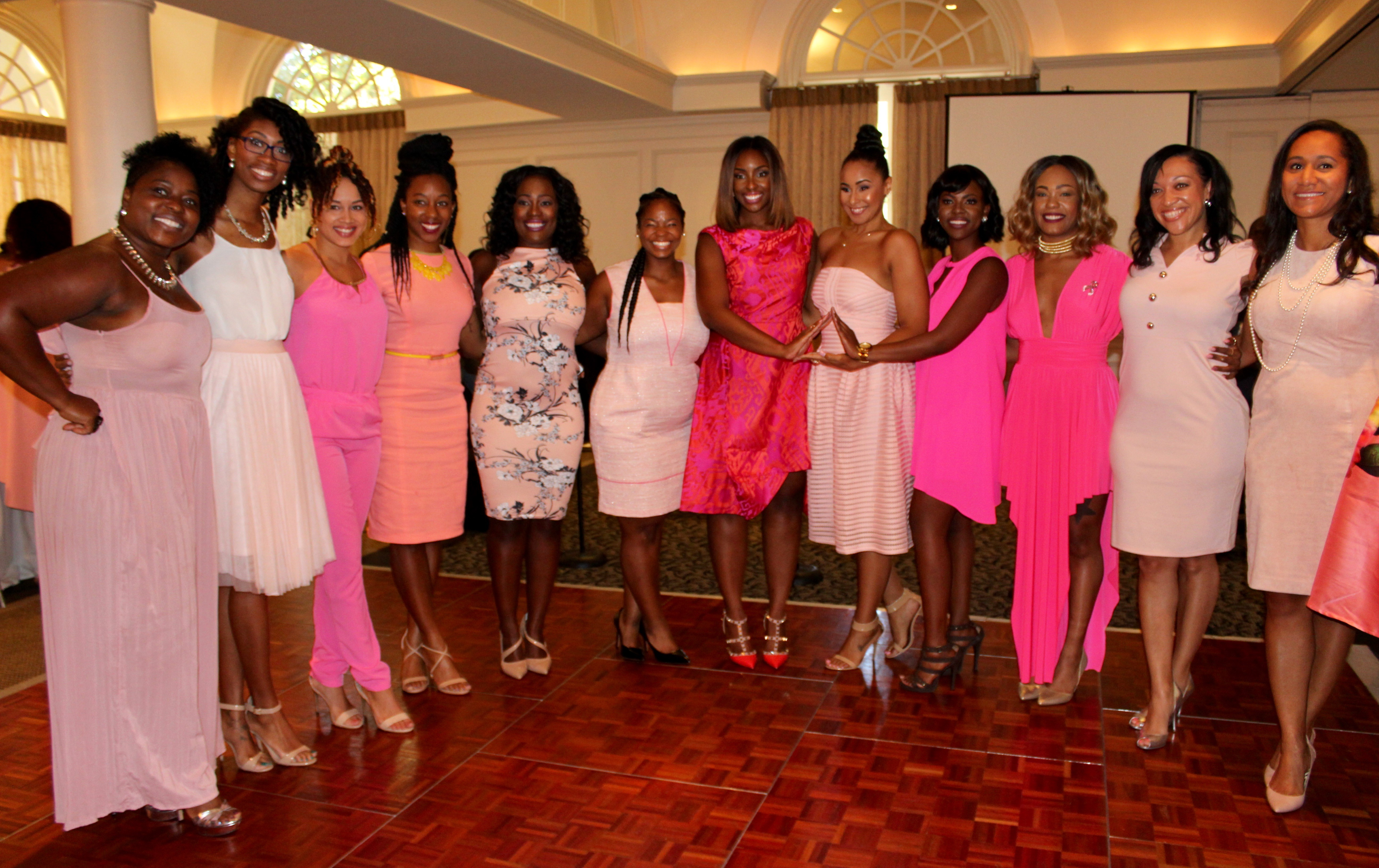 SOCIAL: PINK PAINTED BREAST CANCER BRUNCH