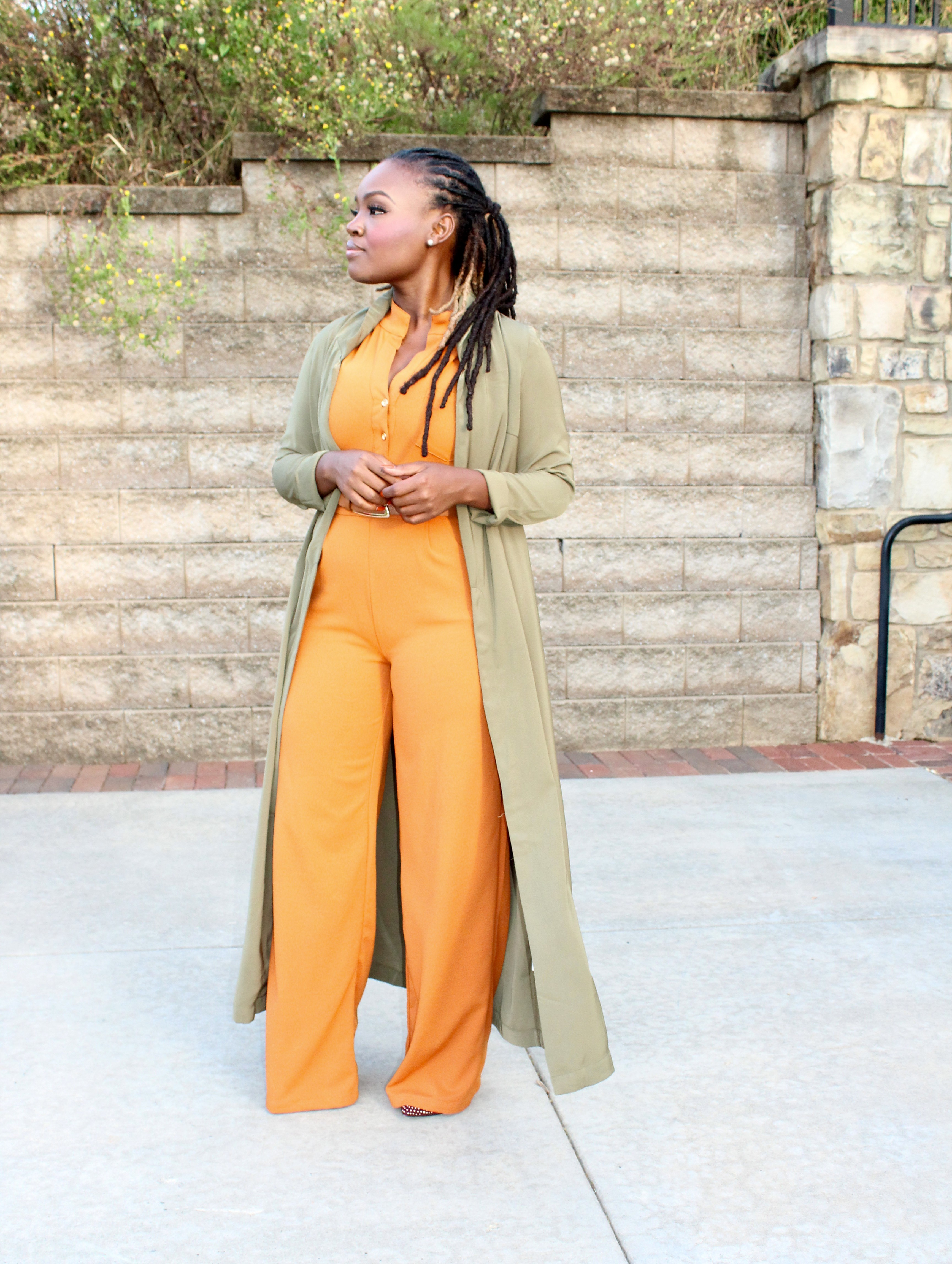 STYLE: BYOB CONFERENCE FALL JUMPSUIT +LINKUP