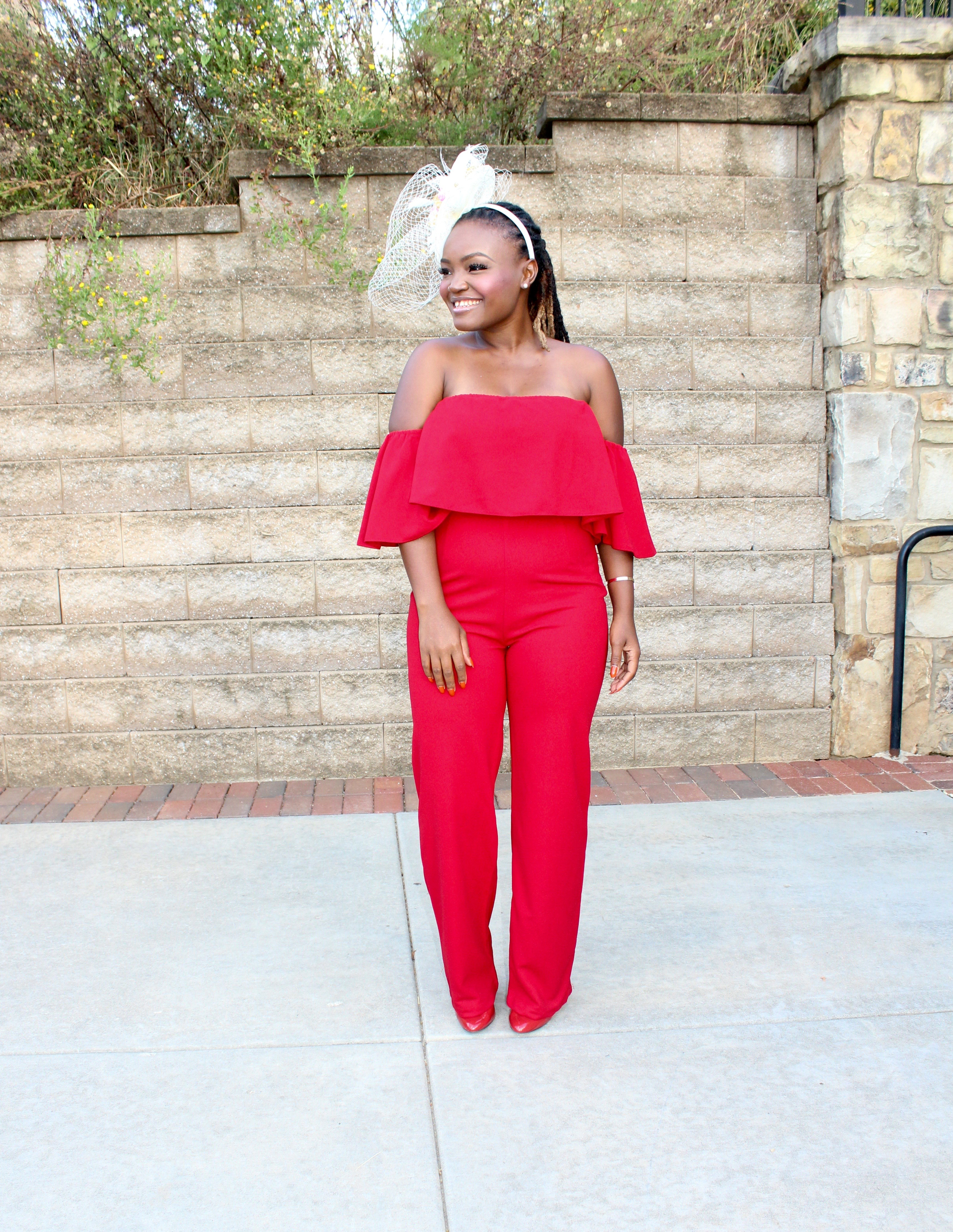 85cf917fe75 STYLE  FALL MIAMI WEDDING RED JUMPSUIT +LINKUP