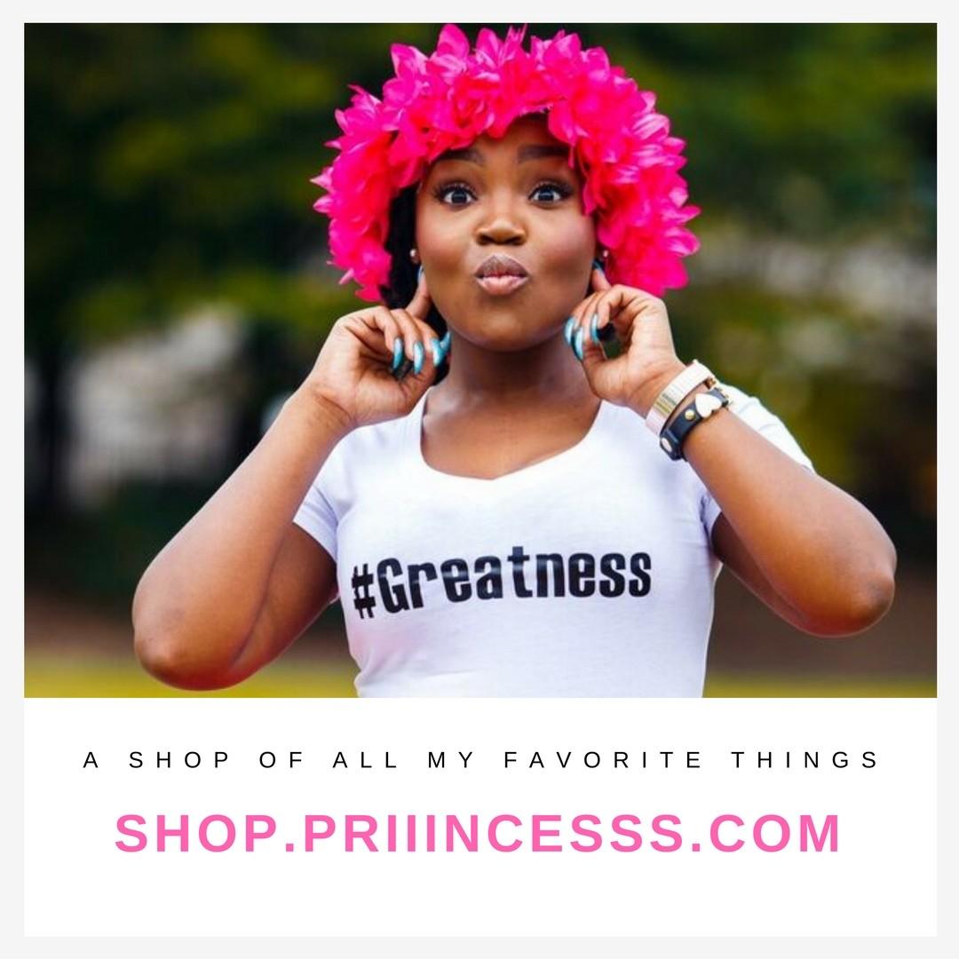 priiincesss blog shop