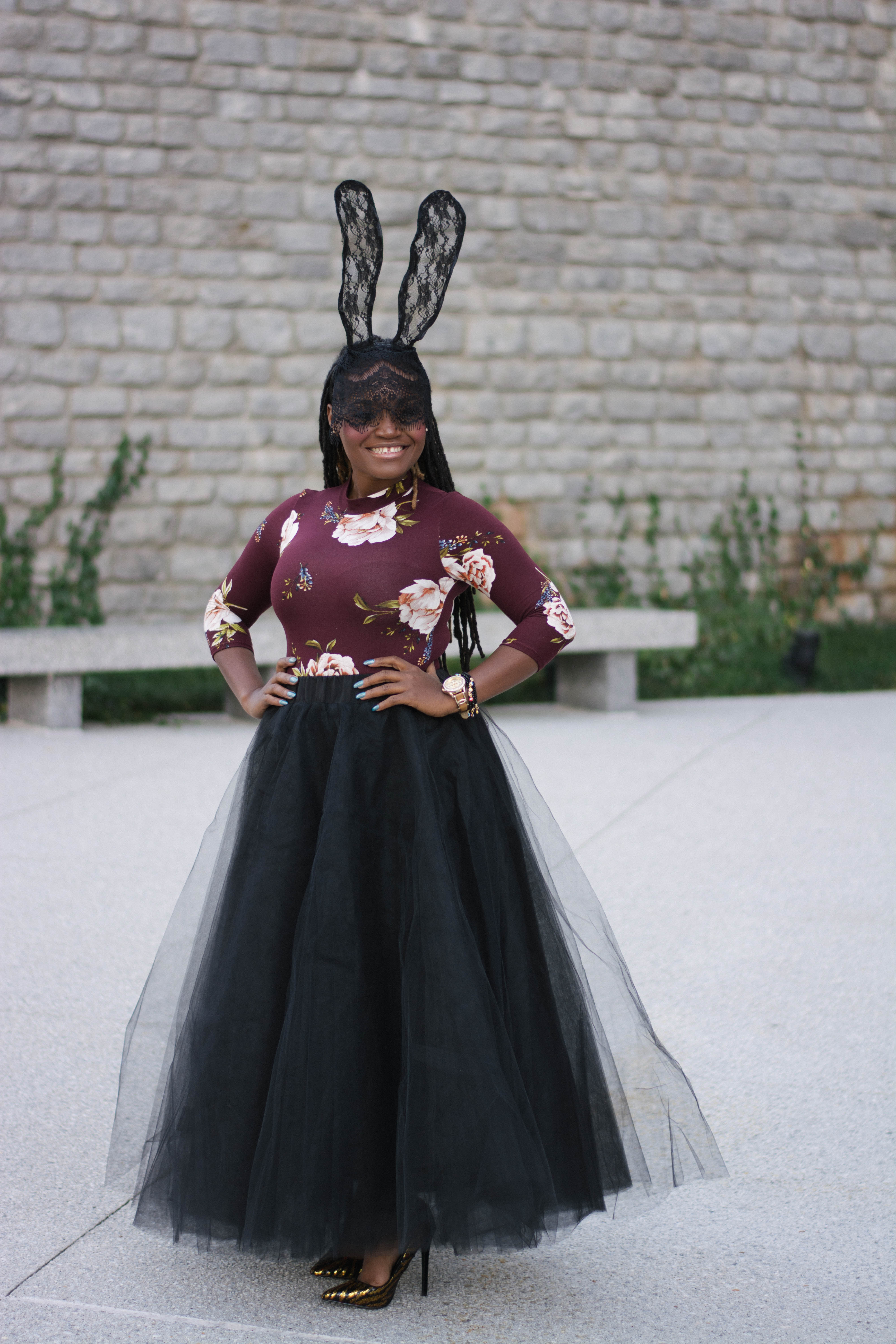 STYLE: HOLIDAY GLAMUP NOW LONG TUTU SKIRT