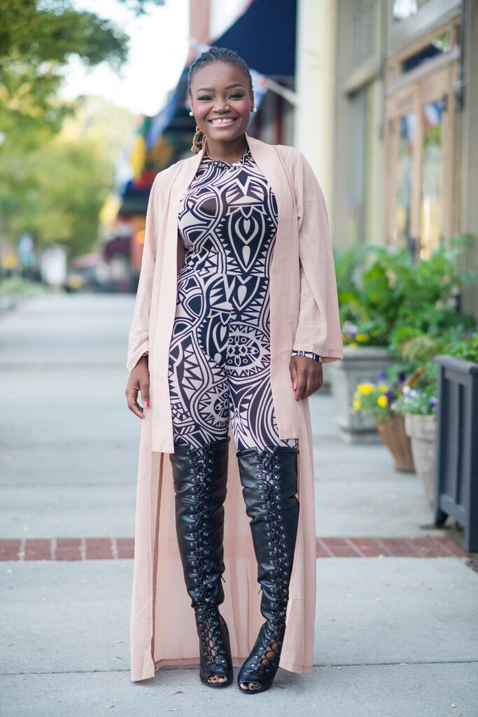 STYLE: ZOE BEAUTEE CHARITY FASHION SHOW ATTIRE