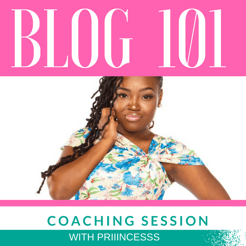 BLOG 101 COACHING SERVICE