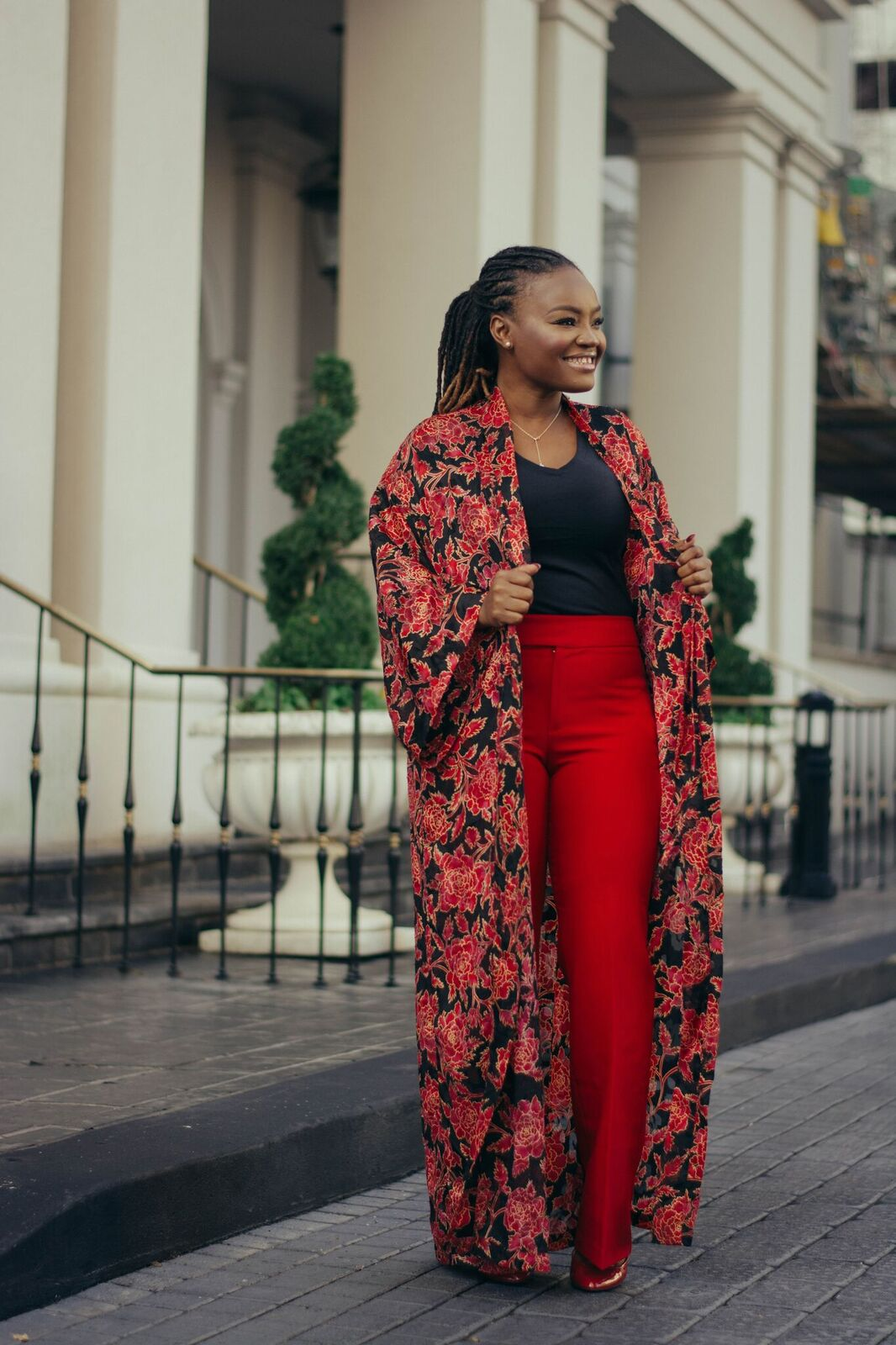 STYLE: FLORAL DUSTER