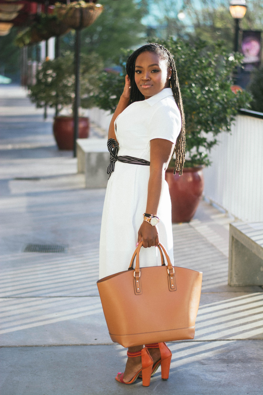 STYLE: LITTLE WHITE DRESS