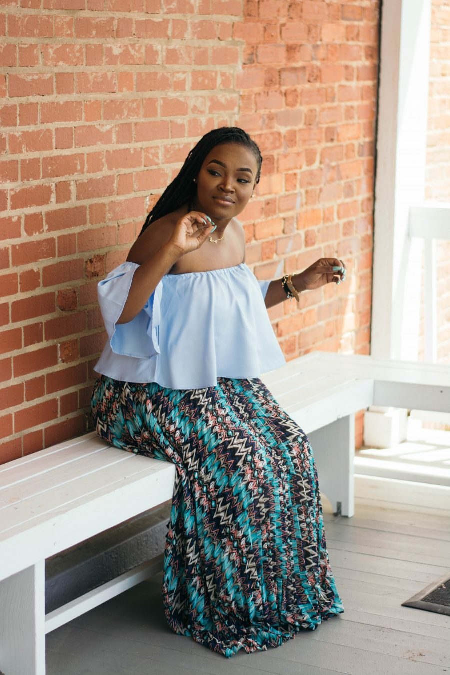 STYLE: ROMWE OFF THE SHOULDER CROP TOP