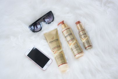 HAIR TALK, PANTENE GOLD SERIES COLLECTION