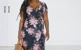 MOTHERS DAY MAKE ME CHIC WRAP MAXI DRESS