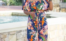 SUMMER FLORAL OFF THE SHOULDER JUMPSUIT