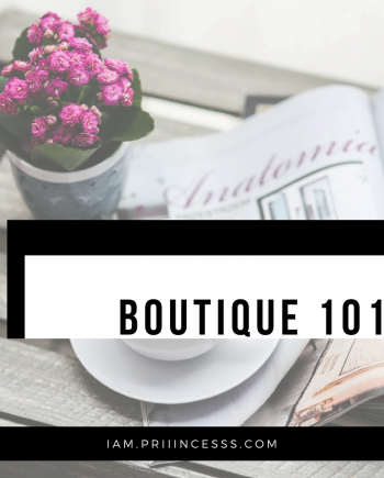 ONLINE BOUTIQUE ONE ON ONE COACHING
