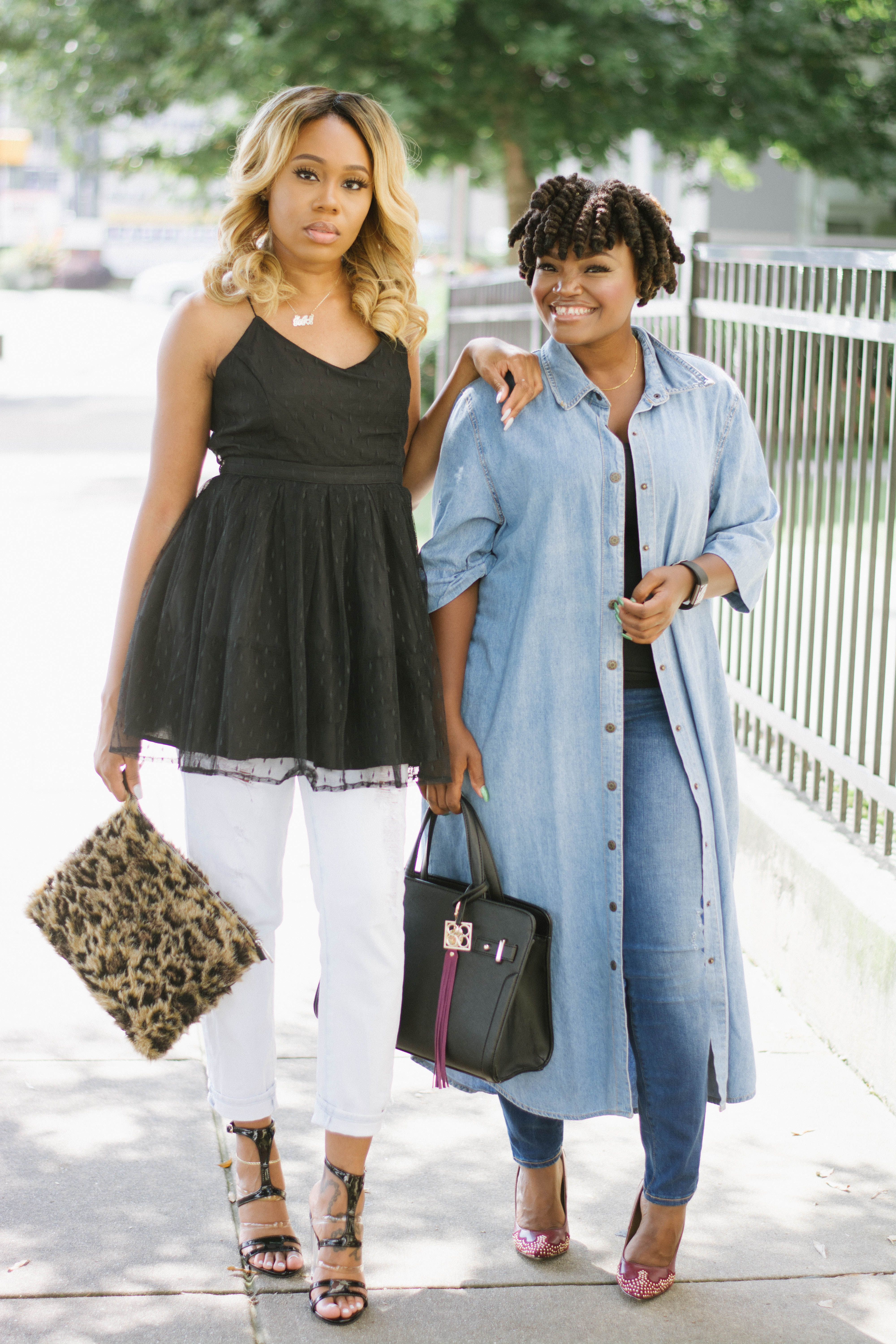 BLOGGER BESTIES: SUMMER FALL TRANSITION LOOKS WITH JOJO