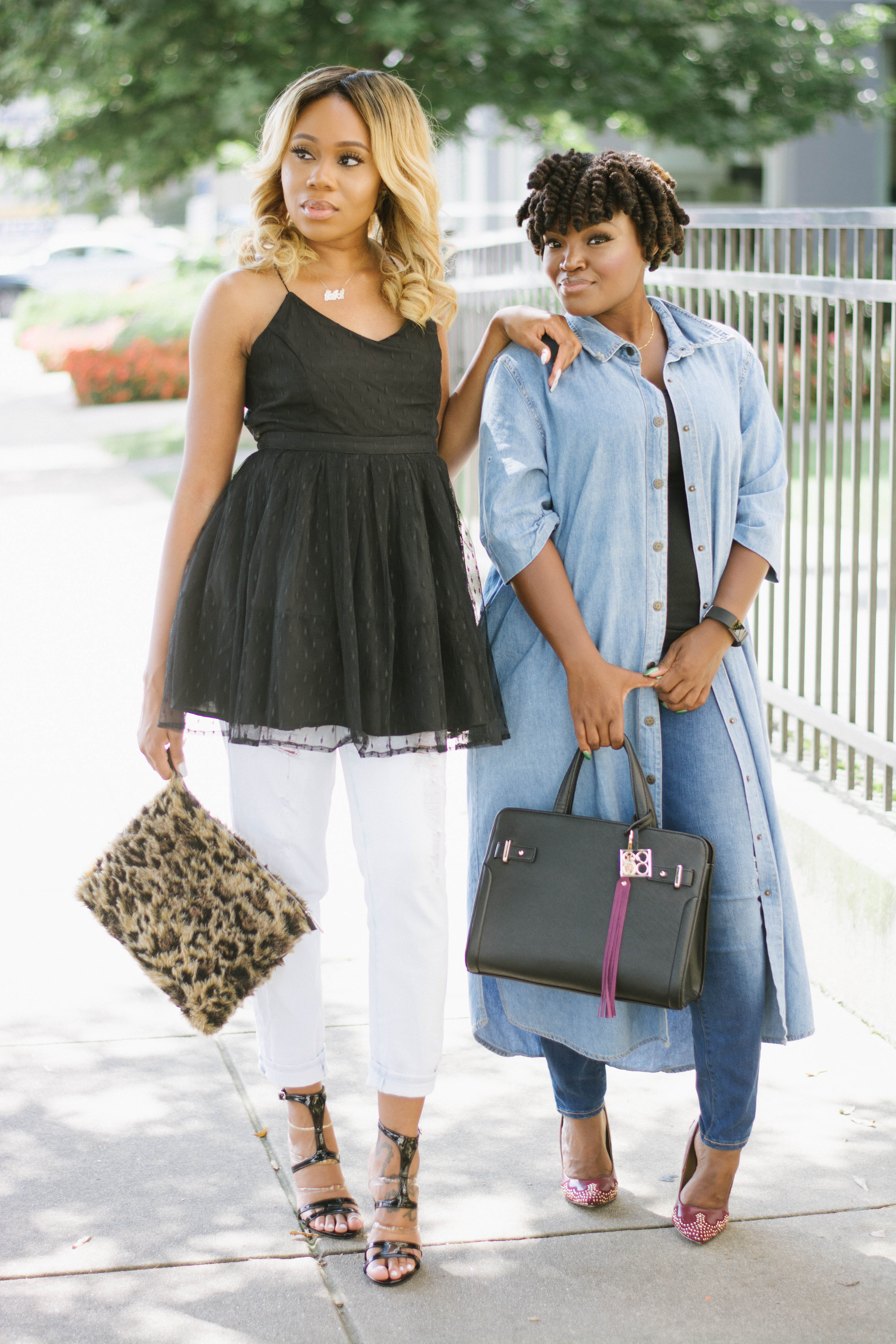 BLOGGER BESTIES: SUMMER FALL TRANSITION WITH JOJO