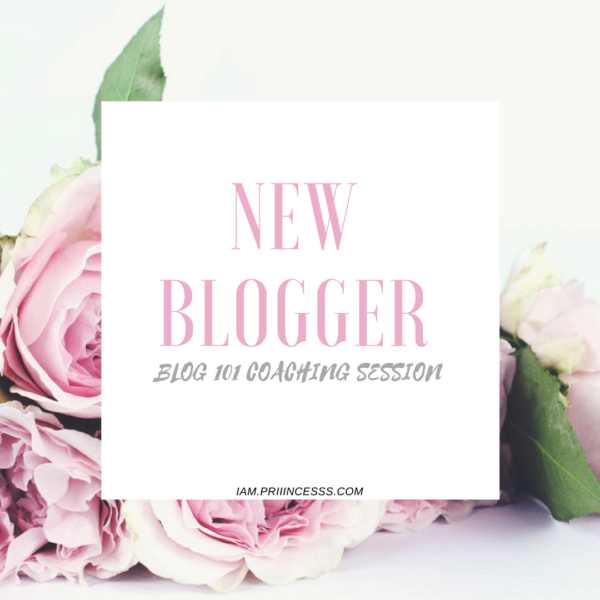 NEW BLOGGER COACHING SESSION- DIY