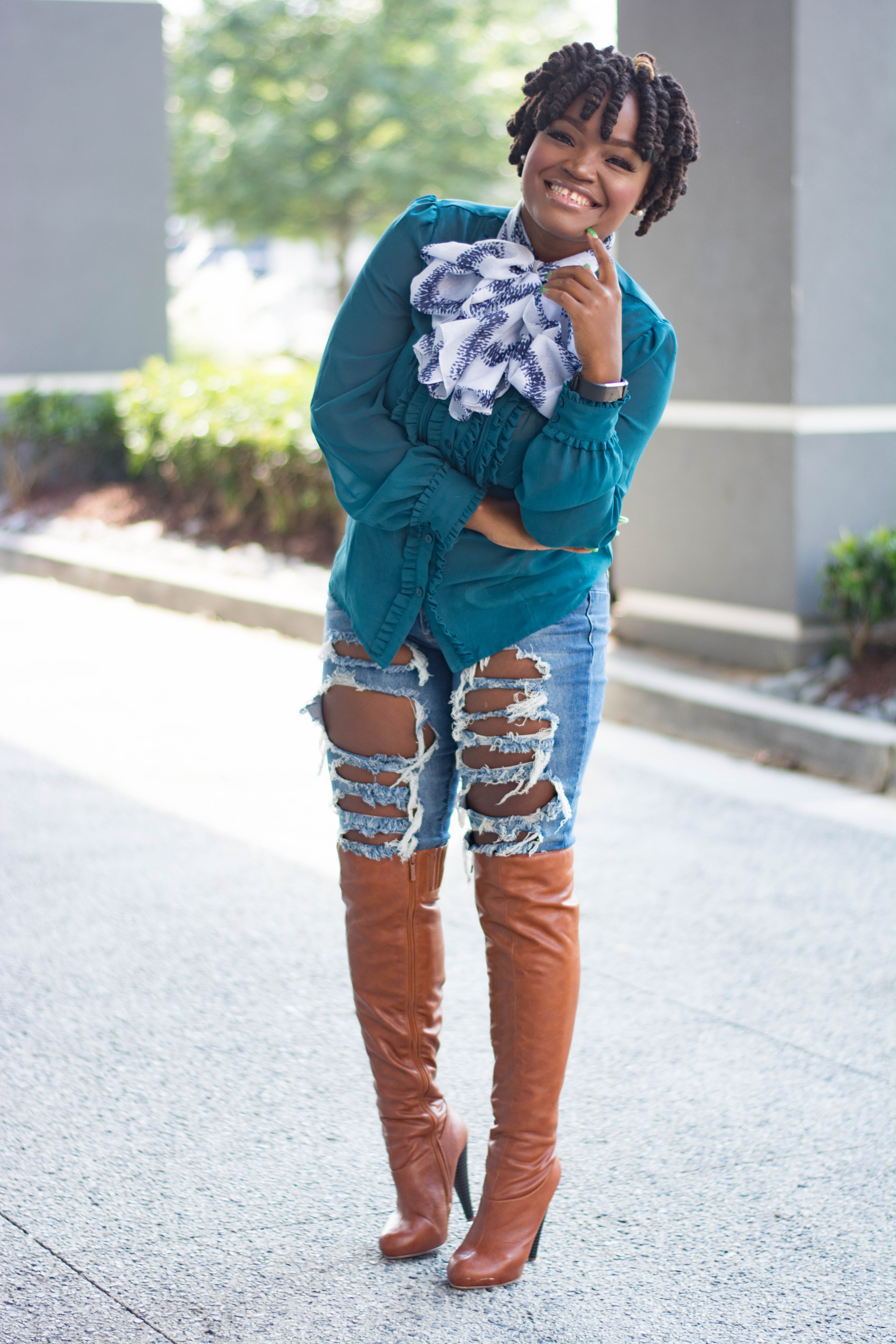 FULL LOOK DETAILS Tank & Jeans: Old Navy… Denim-top: Thrifted… Bag: 88 Handbags… Shoes: ShoeDazzle…… Photos Credit: K. VISUALS Makeup Artist: Arielle Location: Atlanta, Ga More Collabs… ……………………………………………………………………… As always, thank you sooooo much for hanging with ME, have a fabulous day, muahhhh!! Stay Connected with me on Instagram @iampriiincesss As I like to say; Be a #BADASS…. Live Well, Work Hard and See the world in Style. **Live YOUR Best Life** signature