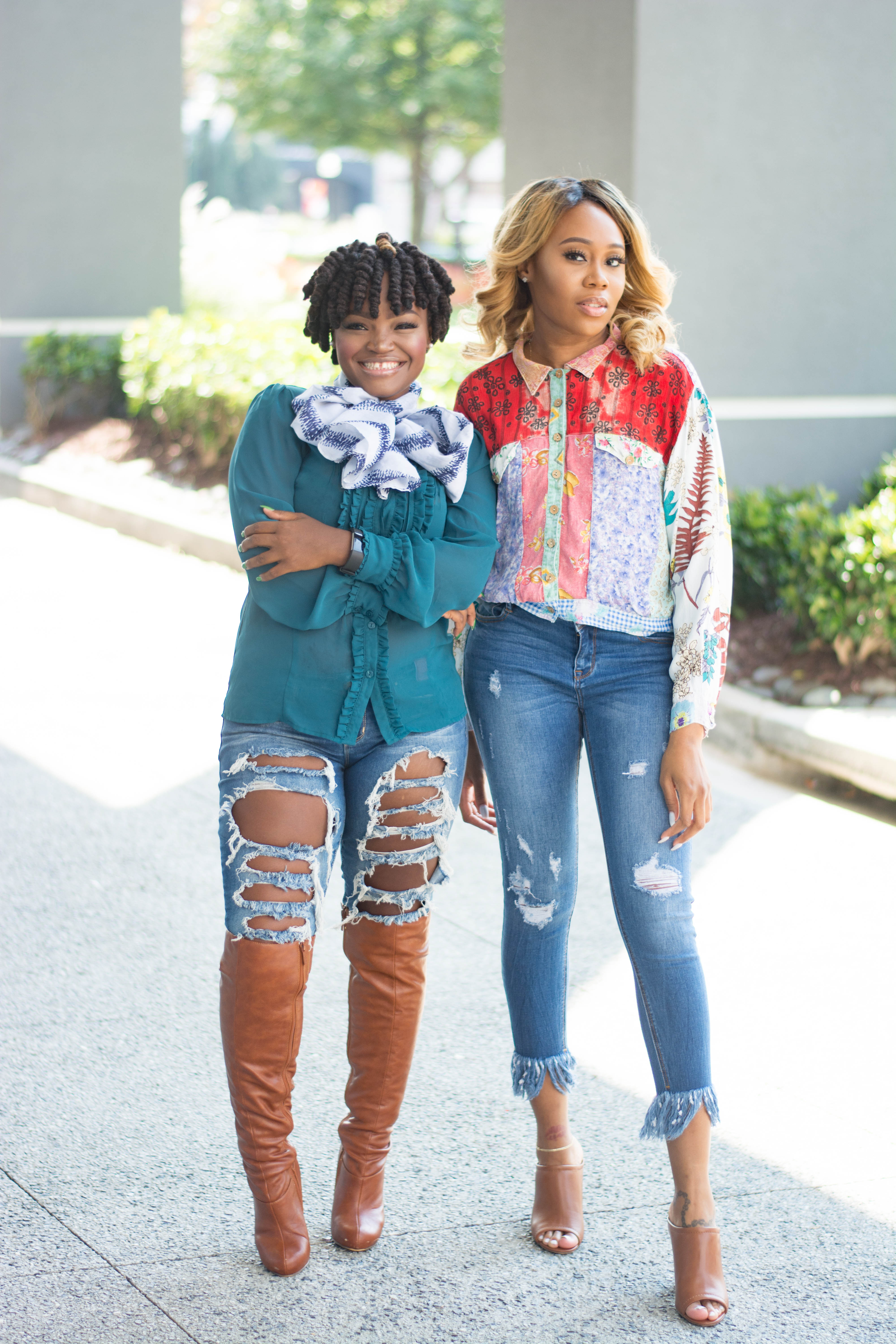 MORE SUMMER FALL TRANSITION LOOKS WITH JOJO