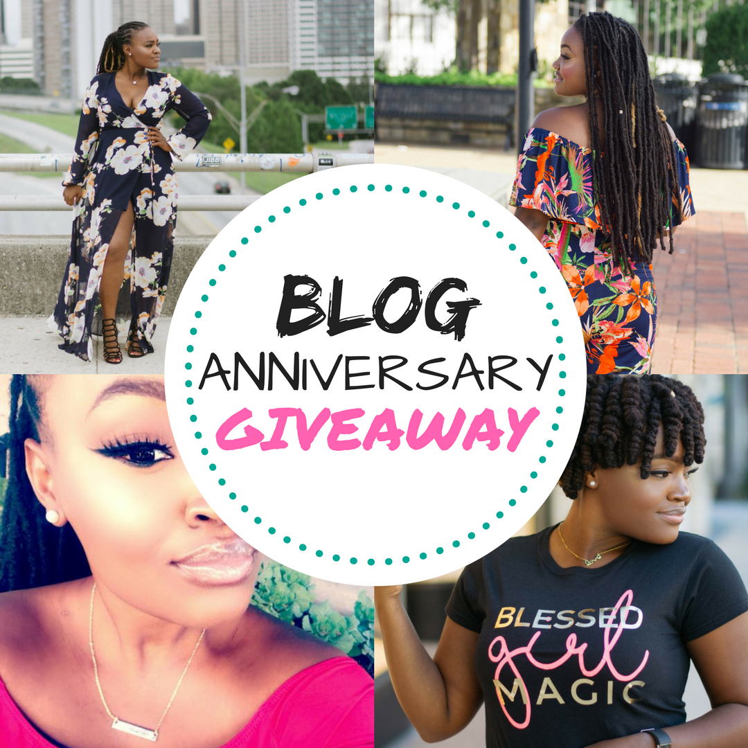 6TH YEAR BLOG ANNIVERSARY FASHION GIVEAWAY