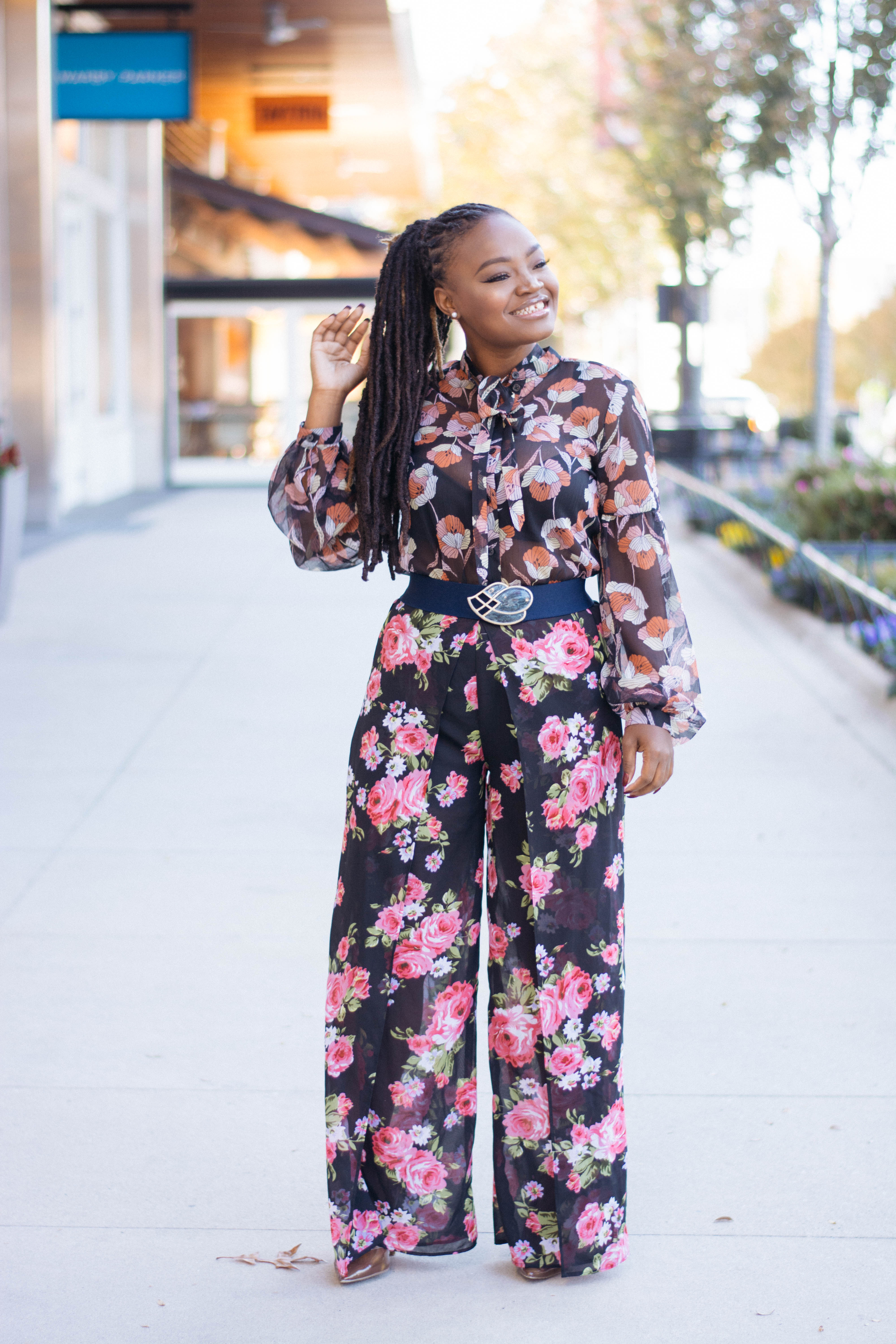 X6: HOW I MIXED PRINTS IN 2017