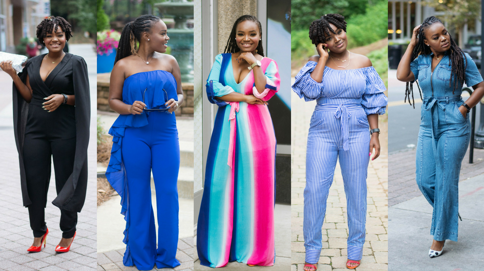 JUMPSUIT OBSESSION: ONE YEAR OF 12 JUMPSUITS