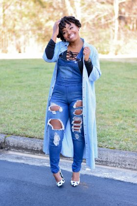 THE 4TH WAY TO WEAR DENIM OVERALLS