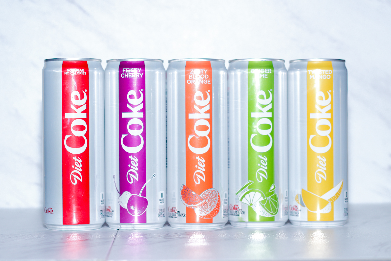 PRIIINCESSS QUICK TROPICAL BREAK - Diet Coke