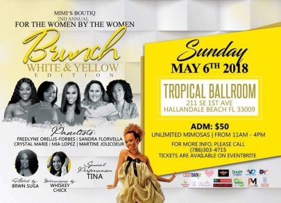 FOR THE WOMEN BY THE WOMEN BRUNCH
