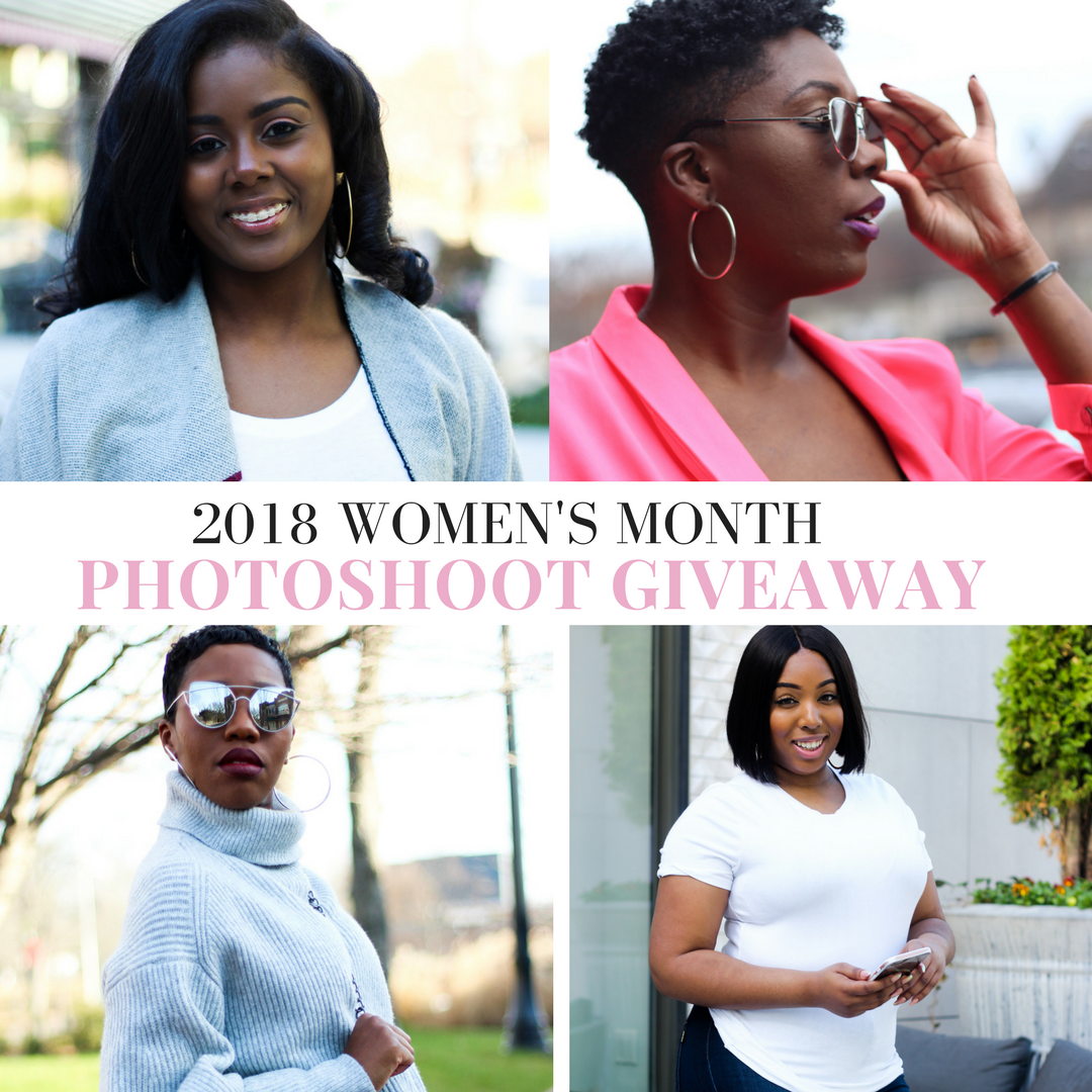 WOMENS MONTH FREE PHOTOSHOOT AND BLOG FEATURE GIVEAWAY