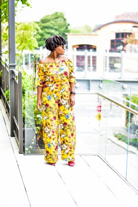 SPRING OFF THE SHOULDER JUMPSUIT