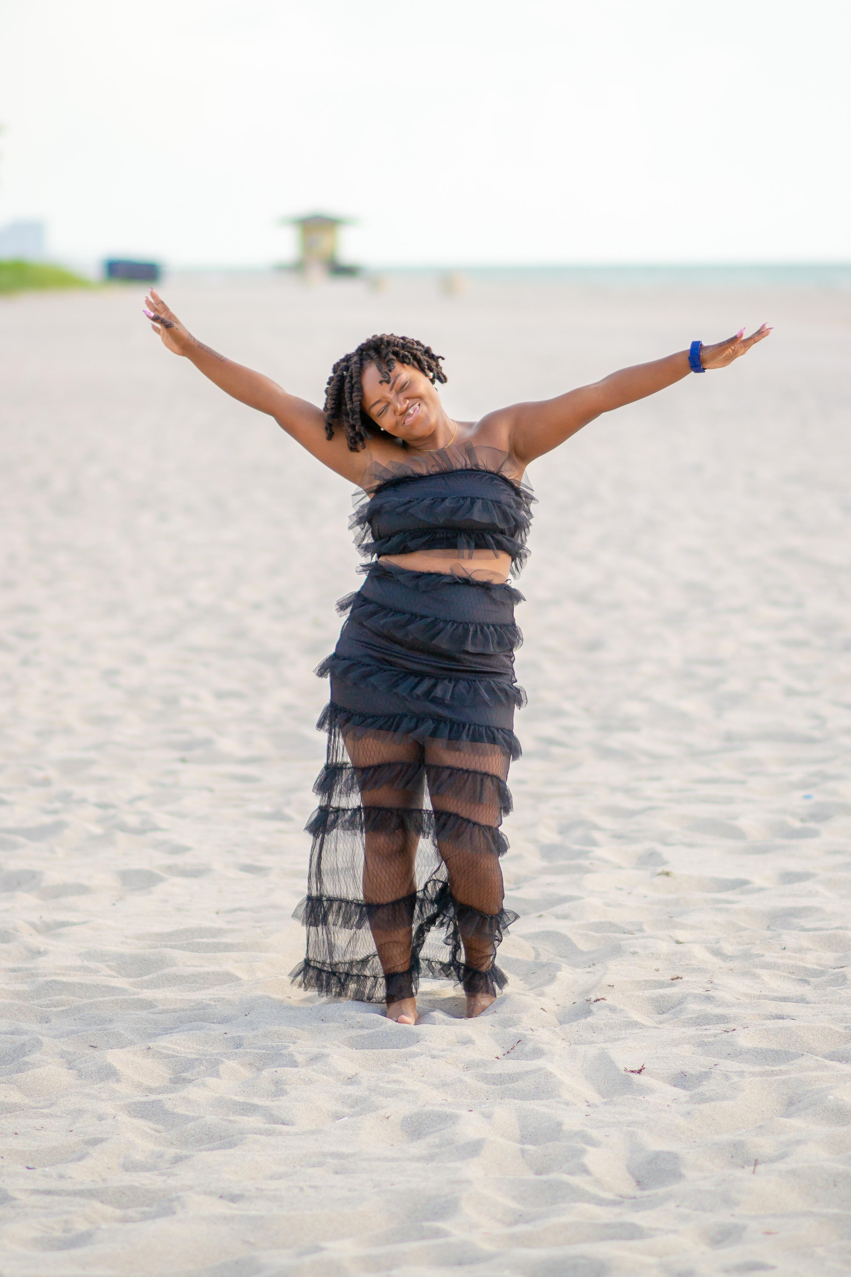 LAST SUMMER BEACH DAY- HOLLYWOOD BEACH, FL