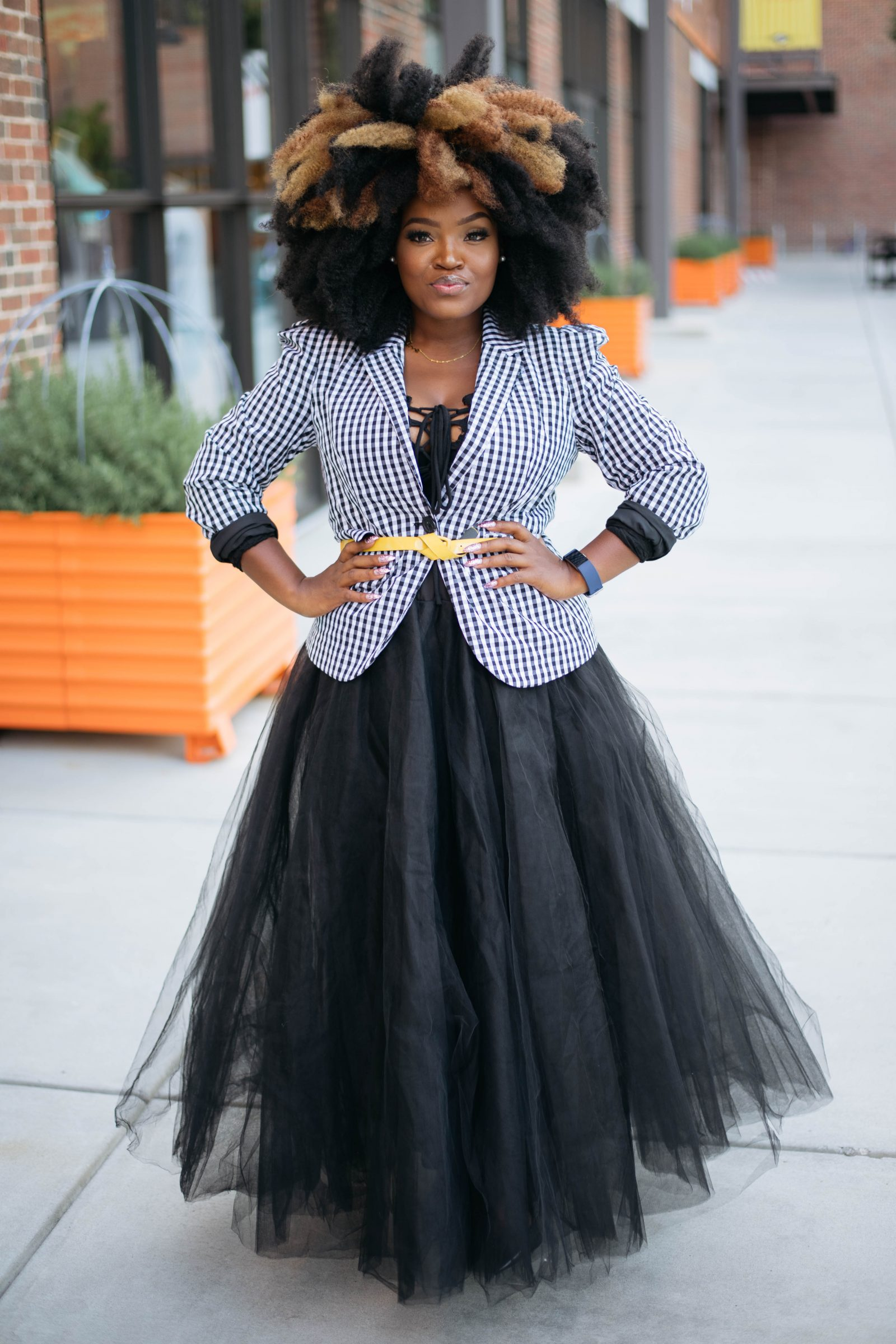 BIG HAIR BIG DREAMS- LONG FALL TUTU SKIRT