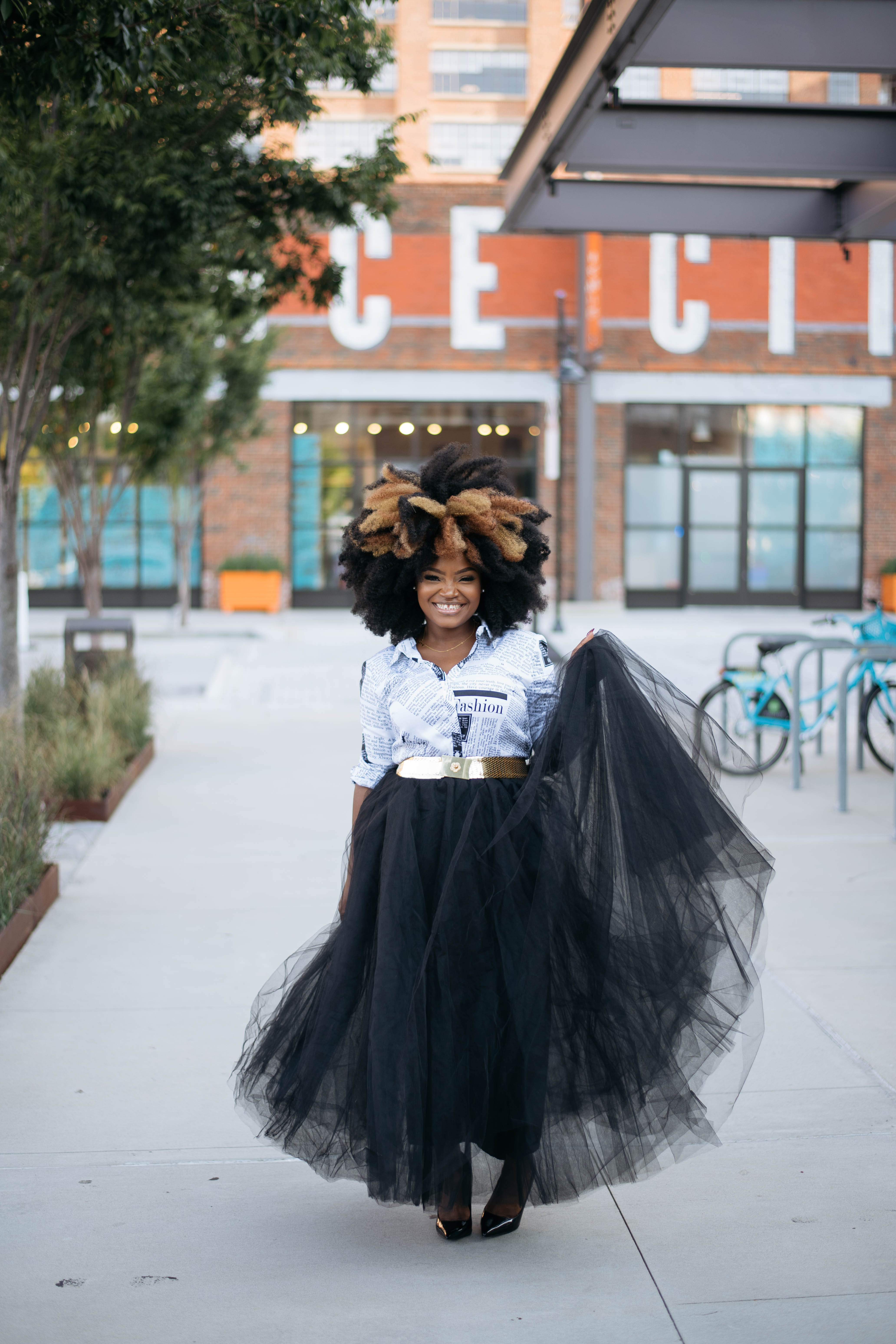 3 WAYS TO WEAR YOUR LONG TUTU SKIRT FOR FALL