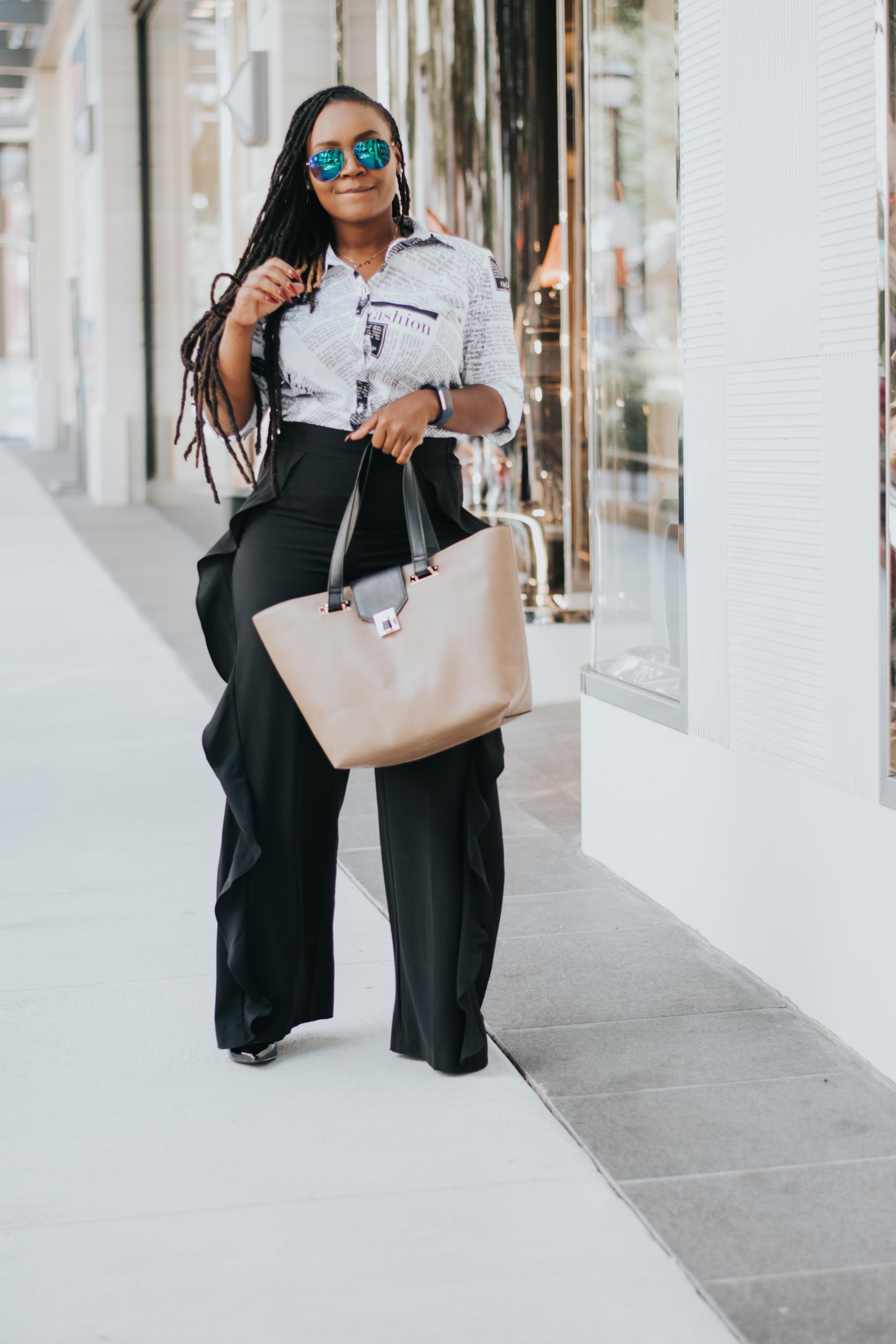 OFFICE CHIC: THE WORK BAG FROM JUSTFAB